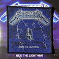 Vintage Metallica - Ride the Lightning woven patch