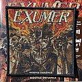 Exumer - Hostile Defiance woven patch