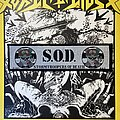 S.O.D. - Patch - vintage S.O.D. - Stormtroopers Of Death woven superstrip patch