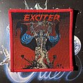 Exciter - Patch - Exciter - Long Live the Loud red border patch