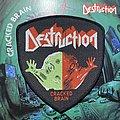 Destruction - Patch - VTG Destruction - Cracked Brain woven patch