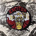Exciter - Patch - Exciter - Long Live the Loud embroidered patch
