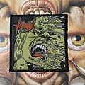 Hirax - Raging Violence woven patch