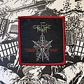 Celtic Frost - Patch - vintage Celtic Frost - Morbid Tales woven patch (red border)