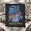 Death - Patch - vintage Death - Spiritual Healing woven patch
