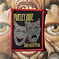 Mötley Crüe - Patch - Vintage Mötley Crüe - Theatre of Pain woven patch