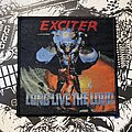 Exciter - Patch - Exciter - Long Live The Loud woven patch