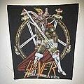 Slayer - Patch - Slayer - Show No Mercy VTG screenprinted backpatch