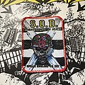 S.O.D. - Patch - S.O.D. - Speak English or Die VTG printed patch