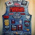 Battle jacket, back, current edition