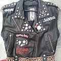 hard rock leather vest Battle Jacket