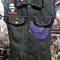 Karlyne horror vest Battle Jacket