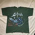 Sodom - TShirt or Longsleeve - Sodom Tapping the vein 92 tour t-shirt green