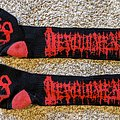 Devourment - Other Collectable - Devourment Socks Red