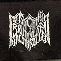 Mastication Of Brutality Uncontrolled-Printed Patch