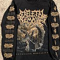 Skeletal Remains Devouring Mortality 2018 Tour Long Sleeve