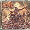 Necromorphic Irruption - Tape / Vinyl / CD / Recording etc - Necromorphic Irruption - Slaughter On The Earth Cd