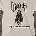 Disannuleth - Age Of Exalted Intolerance Short Sleeve TShirt or Longsleeve