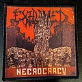 Exhumed Necrocracy Printed Patch