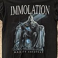 Immolation - TShirt or Longsleeve - Immolation - Majesty And Decay Tour Short Sleeve