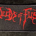 Deeds Of Flesh - Patch - Deeds of Flesh Embroidered Patch