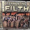Cumbeast - Tape / Vinyl / CD / Recording etc - Fermenting In Five-way FIlth Split Cd
