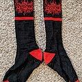 Splattered Socks