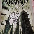 Beyond Creation The Aura Signed Poster
