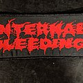 Internal Bleeding Woven Patch