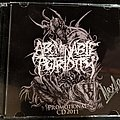 Abominable Putridity Promo Cd Signed
