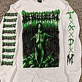Devourment - Tomb Of Scabs White Long Sleeve TShirt or Longsleeve