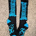 Devourment - Other Collectable - Devourment Socks Blue