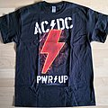 AC/DC - TShirt or Longsleeve - AC/DC - PWR UP Glow In The Dark (EMP exclusive)