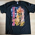 Iron Maiden - TShirt or Longsleeve - Iron Maiden - 1st Album Cover (Tracks on the back)