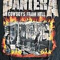 Pantera - TShirt or Longsleeve - Pantera - Cowboys From Hell - Fire Frame