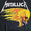 Metallica - TShirt or Longsleeve - Metallica - Flaming Skull Tour Tee 1994 (Reprint)