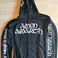 Amon Amarth - Hooded Top - Amon Amarth - The Pursuit Of Vikings Zipper Hoodie (Tour Edition 2019)