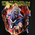 Iron Maiden - Hooded Top - Iron Maiden - Eddie On Bass Hoodie