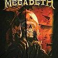 Megadeth - TShirt or Longsleeve - Megadeth - Figther Pilot Europe 2020 Tour Date Back Tee