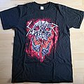Slayer Europe 2017 Tour Shirt