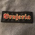 Brujeria woven patch