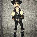 Handmade Lemmy Kilmister figurine - one of a kind.