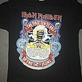 Iron Maiden The First 10 Years vintage shirt XL