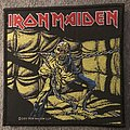 Iron Maiden Piece of Mind woven patch from 2011