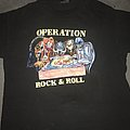 Operation Rock & Roll 1991 North American tour shirt