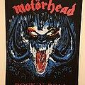 Motörhead - Patch - Vintage Motorhead Rock 'N' Roll Back Patch 1987 MINT CONDITION DEADSTOCK
