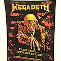 Megadeth - Patch - Megadeth 1986 Peace sells Back patch quite hard to find deadstock