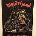 Motörhead - Patch - Vintage motorhead 1986 Orgasmatron Back patch MINT CONDITION