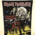 Iron Maiden - Patch - vintage Iron Maiden Number of the beast BACKPATCH mint deadstock