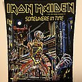 Iron Maiden - Patch - Vintage 1986 Iron Maiden Somewhere in time BACKPATCH MINT DEADSTOCK